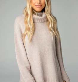Buddy Love Karen Cowl Neck Tunic Sweater