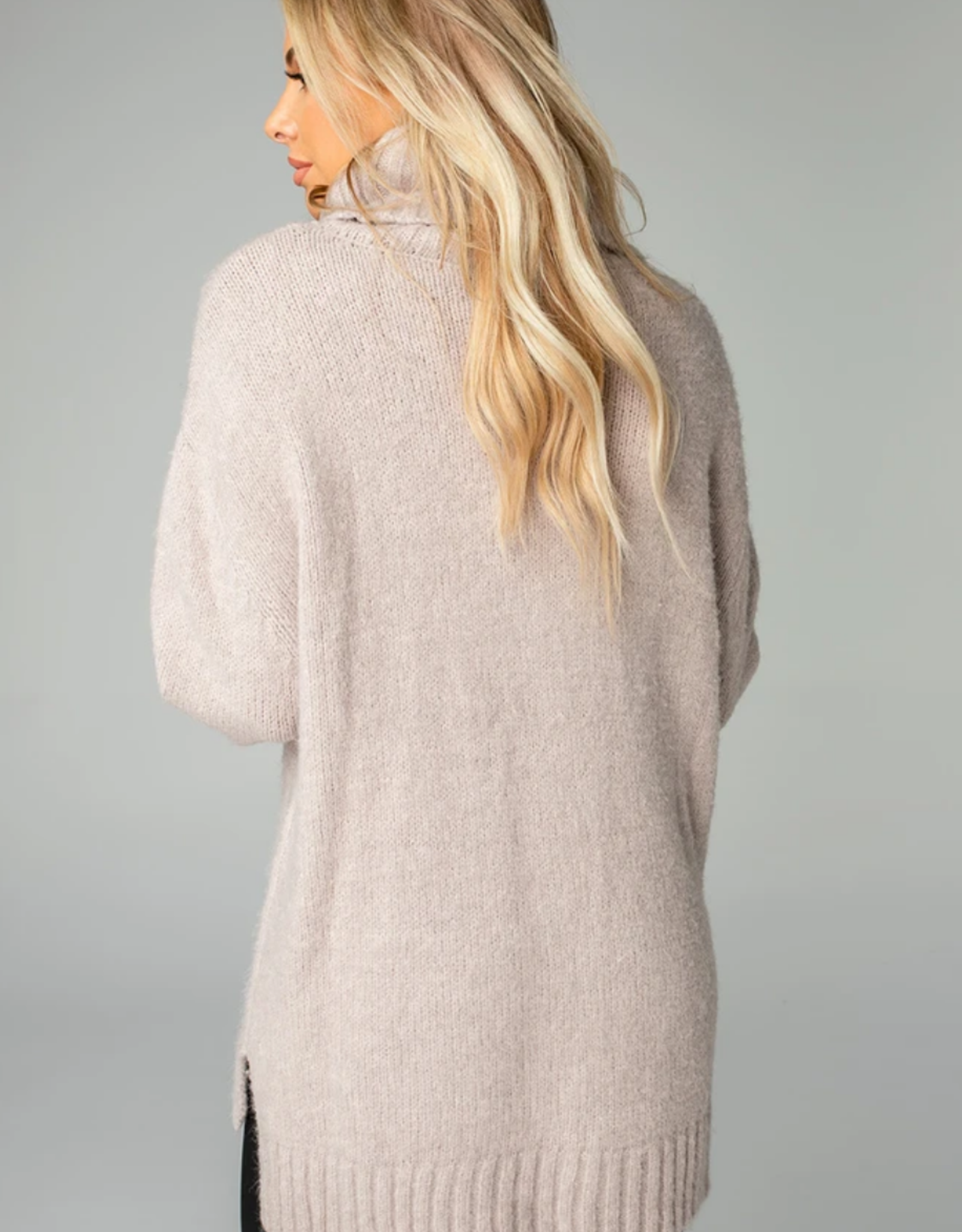 Buddy Love Karen Cowl Neck Tunic Sweater