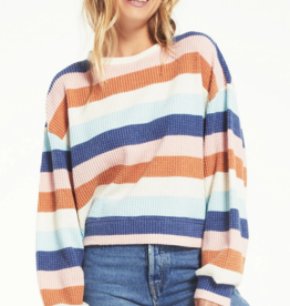 Z Supply Mercer Stripe Thermal Top