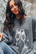 Champagne Toast Campus Pullover