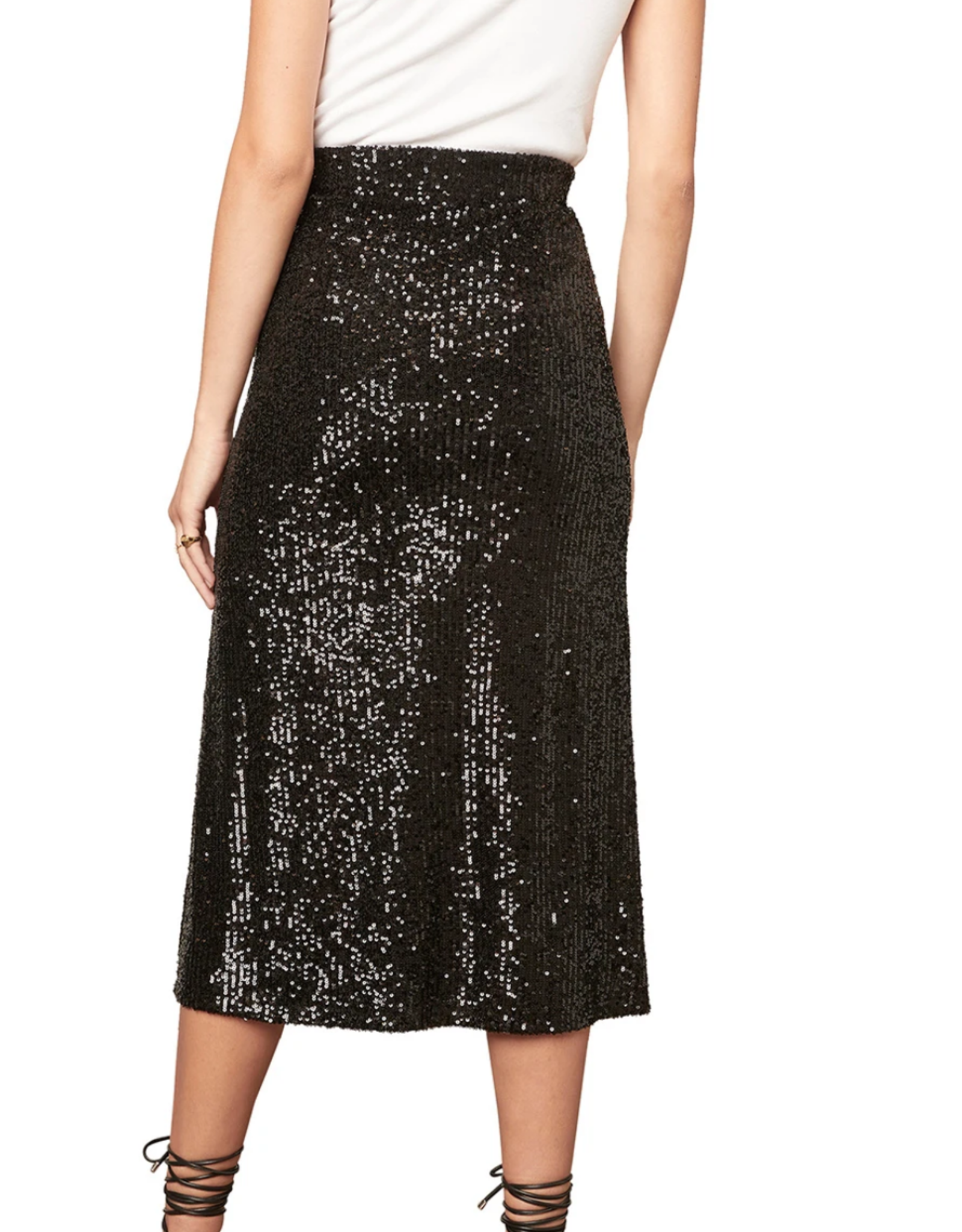 BB Dakota Starry Night Midi Sequin Skirt