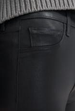 J Brand Alma Coated High Rise Straight Jeans