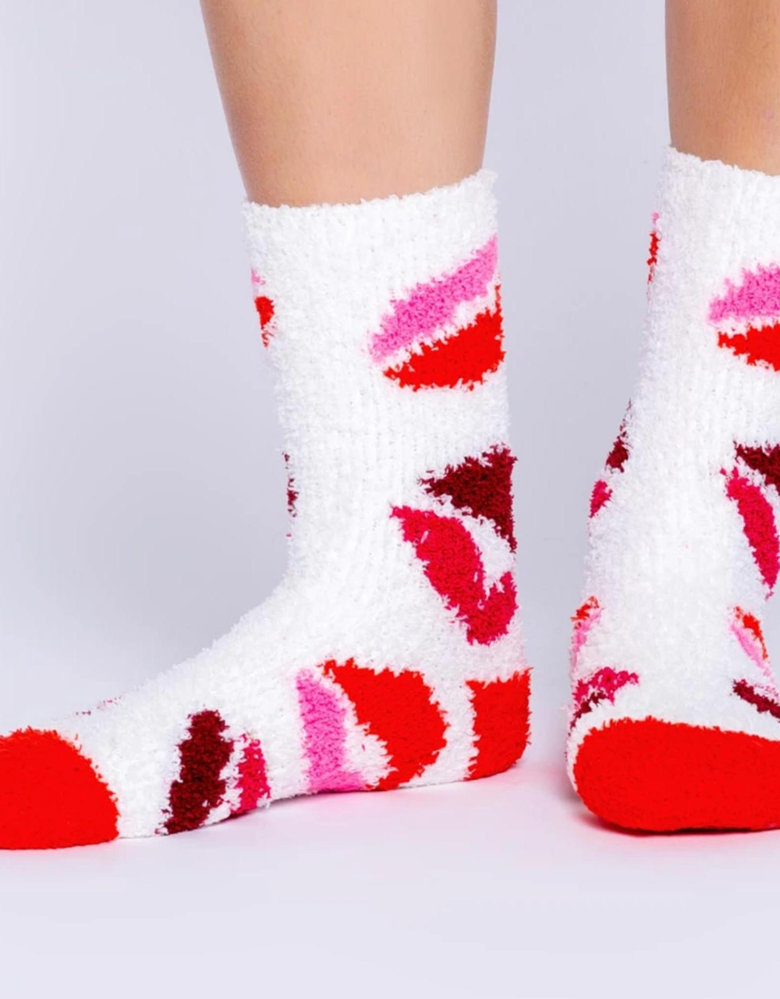PJ Salvage Kiss Socks