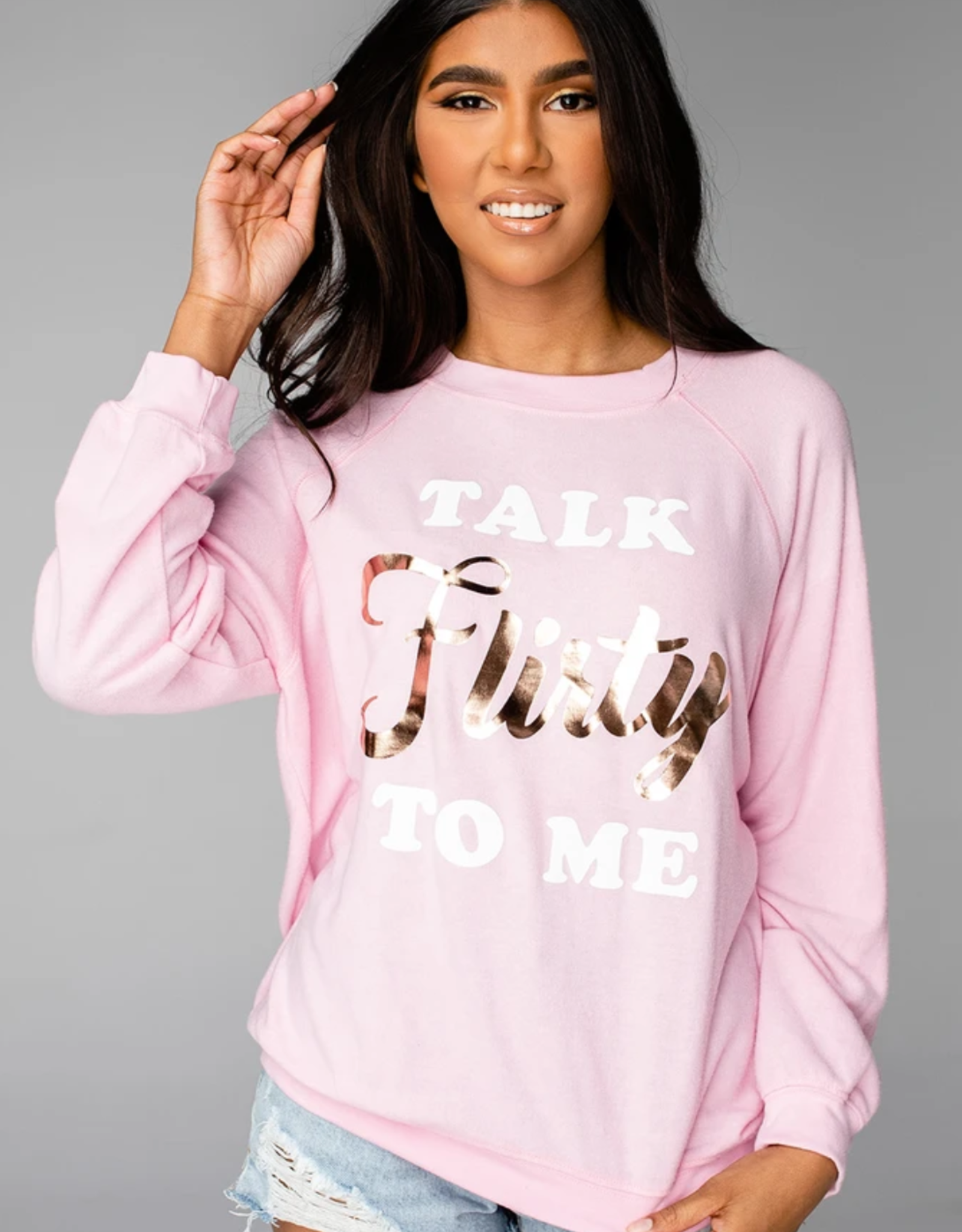 Buddy Love Courtney Graphic Sweatshirt