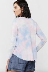 Velvet Heart Suzette Long Sleeve Tie Dye Top