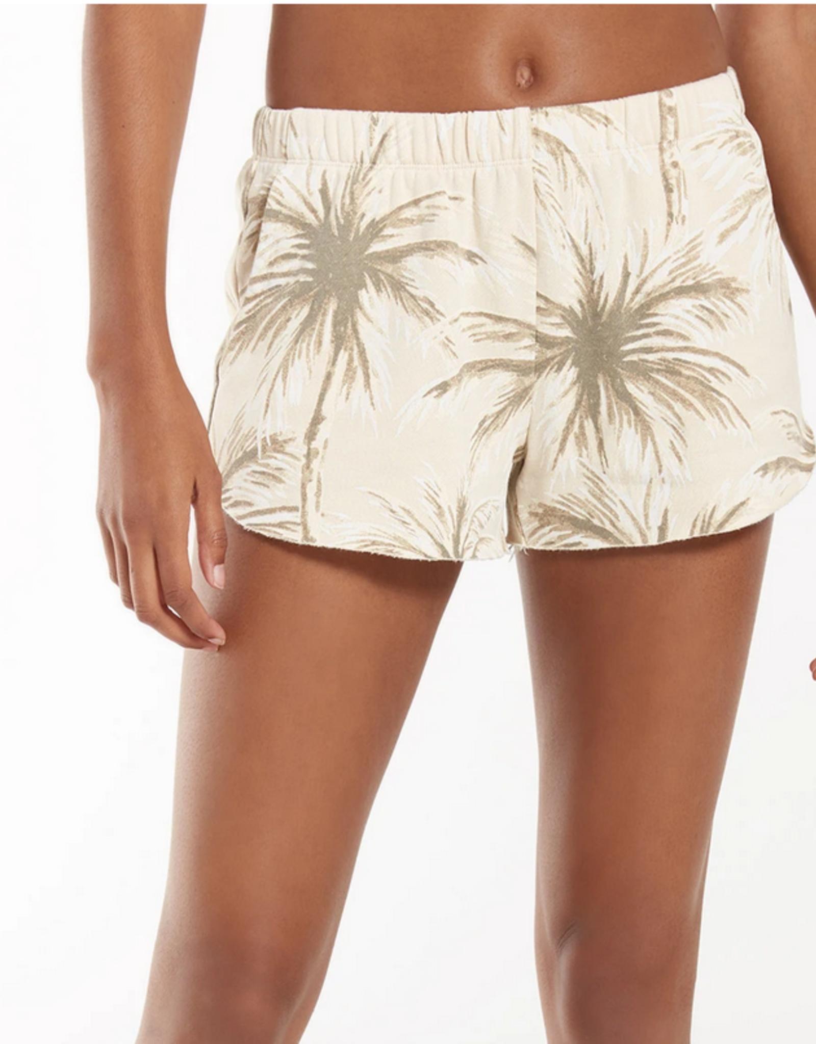 Z Supply Pindo Coconut Palm Short