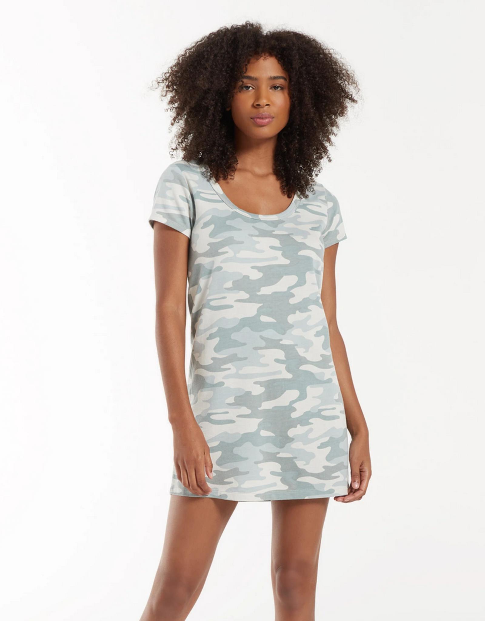 Z Supply Peyton Camo Tee Dress