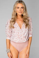 Buddy Love Twyla Surplice Bodysuit