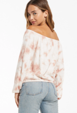 Z Supply Liv Cloud Tie-Dye Top