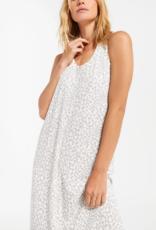 Z Supply Luna Leopard Rib Hacci Dress