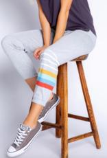 PJ Salvage Retro Stripe Banded Pant