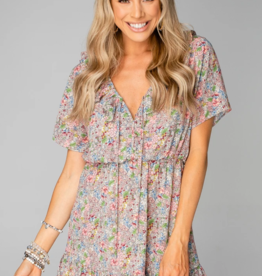 Buddy Love Trixy Ruffled Mini Dress
