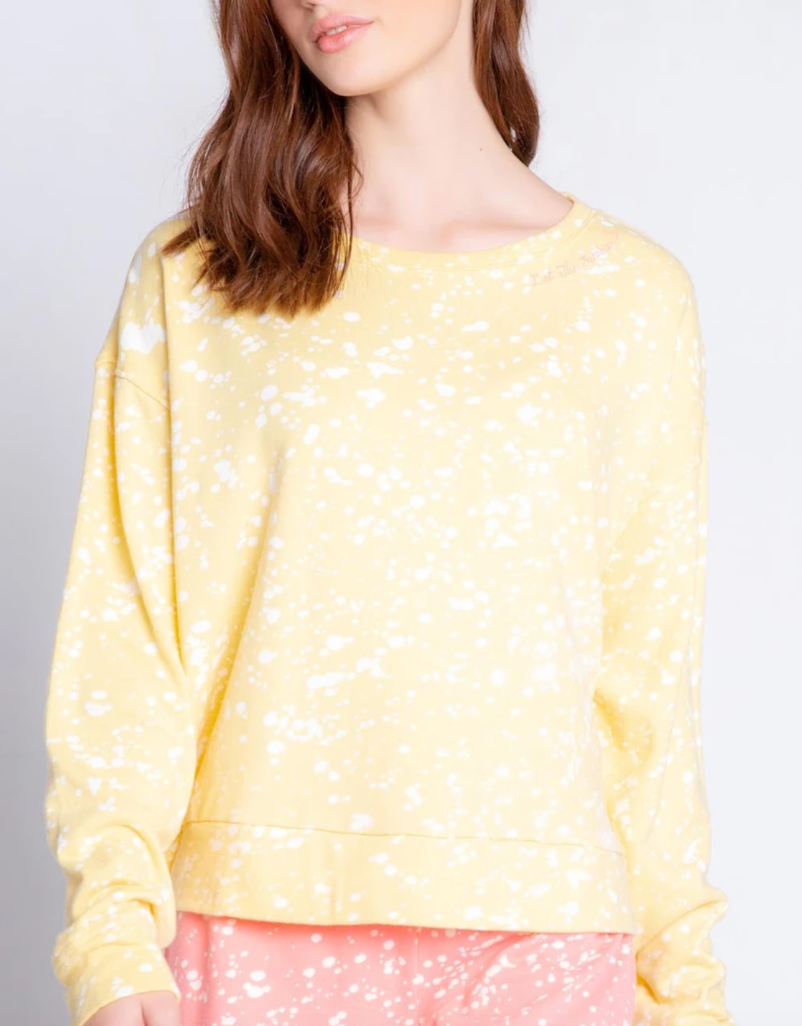 PJ Salvage Flick Of A Brush Long Sleeve Top