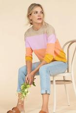 Lilla P Oversized Jewel Neck Sweater