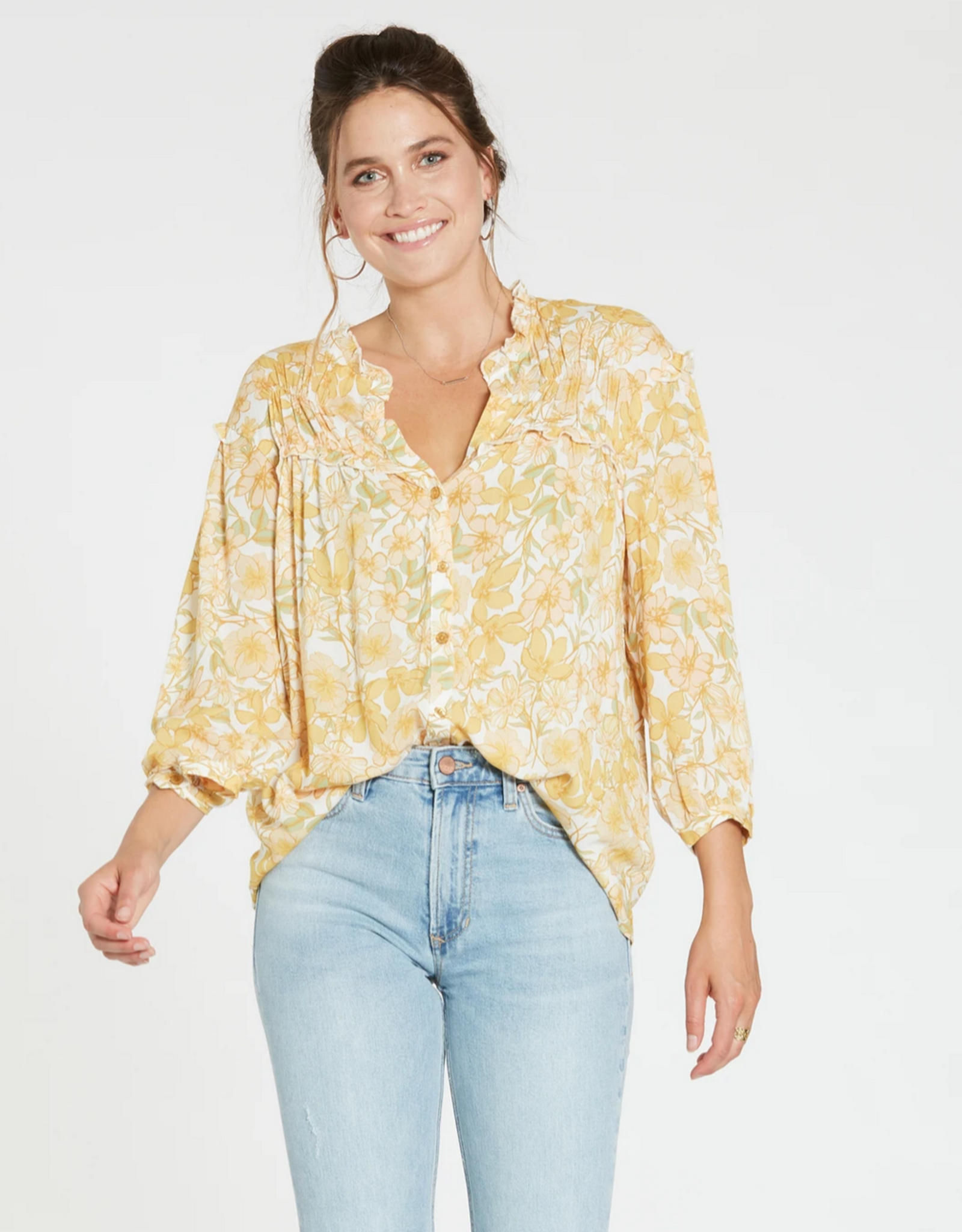 Dear John Rita Long Sleeve Top