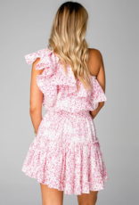 Buddy Love Sofia One Shoulder Ruffle Dress
