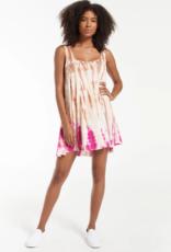 Z Supply Eva Sorbet Skies Tie Dye Dress