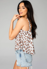Buddy Love Athena Flowy Cropped Tank Top