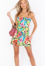 Show Me Your Mumu Lauren Tie Mini Dress