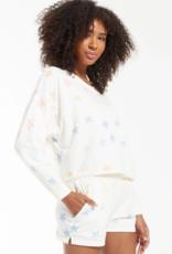 Z Supply Lia Rainbow Star Pullover