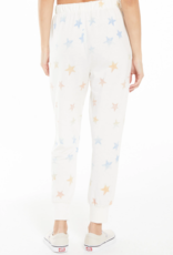 Z Supply Mabel Rainbow Star Jogger