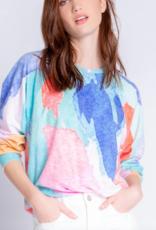 PJ Salvage Art Class Long Sleeve Top