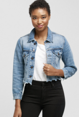 ABLE The Cropped Denim Jacket