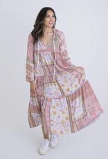 Karlie Floral Boho Maxi Dress