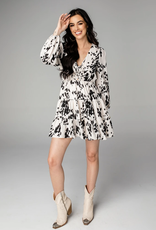 Buddy Love Melody Lace Up Mini Dress