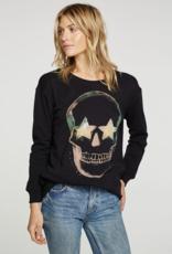 Chaser Dark Skull Pullover