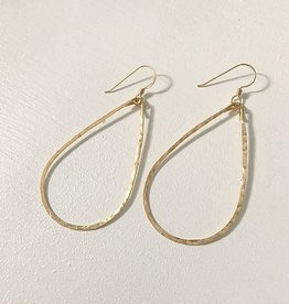 Little Fish Boateak Class-Sea Tear Drop Earrings