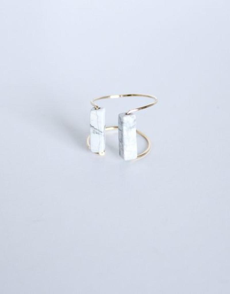 Hali Open Ring Cuff