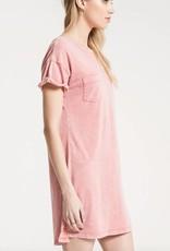 Z Supply Washed Cotton T-Shirt Dress