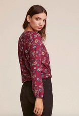 Jack by BB Dakota Allora Floral Crisscross Front Blouse
