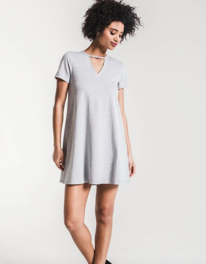 Z Supply The Cut Out Front Tee Dress
