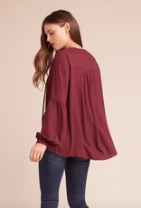 Jack by BB Dakota Laurel Canyon Drawstring Top