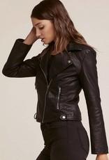 Jack by BB Dakota Doin' It Right Faux Leather Biker Jacket
