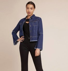 BB Dakota Jean Genie Jacket with Fringe Bottom