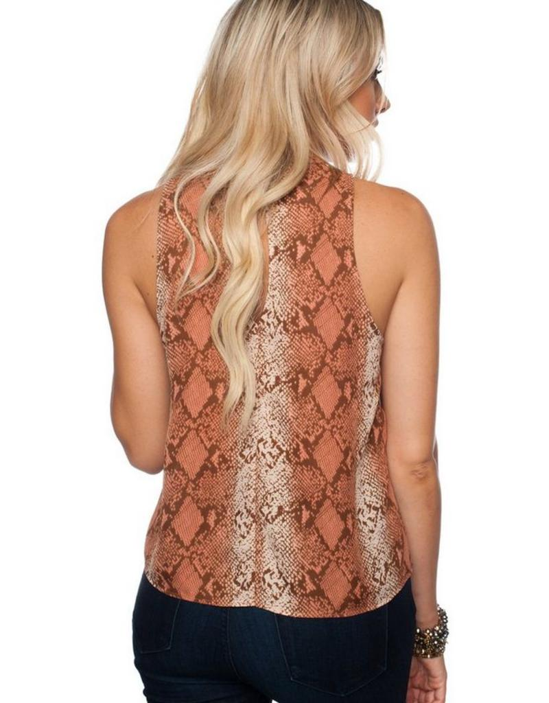 Buddy Love Date Top with Keyhole