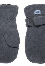 Calikids Calikids - Graphite Fleece Mittens w Velcro