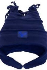 Calikids Calikids - Fleece Hat w Velcro - Navy
