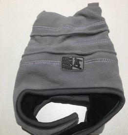 Calikids Calikids - Fleece Hat w Velcro - Grey