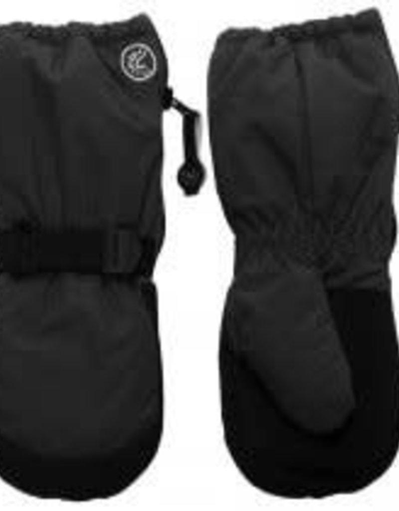 Calikids Calikids - Long Zipper Mitts - Black