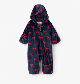 Hatley Hatley - Red Labs Fleece Baby Bundler