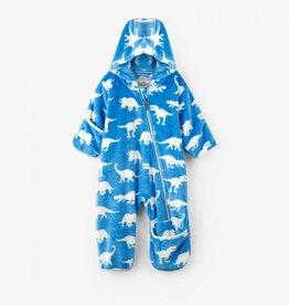 Hatley Hatley - Winter Dinos Fleece Baby Bundler