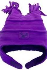 Calikids Calikids - Fleece Hat w Velcro - Violet Cactus