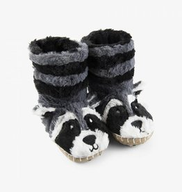 Hatley Little Blue House - Kids Slippers Raccoon