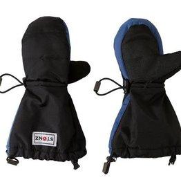 Stonz Stonz - Youth Mittz Waterproof Black/Blue Accents
