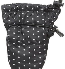 Stonz Stonz - Infant Mittz Waterproof Black Polka Dot