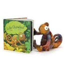 JellyCat JellyCat - Colin Chameleon Book